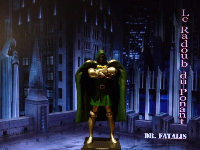 Dr Fatalis - Figurine en plomb. Mldrf110