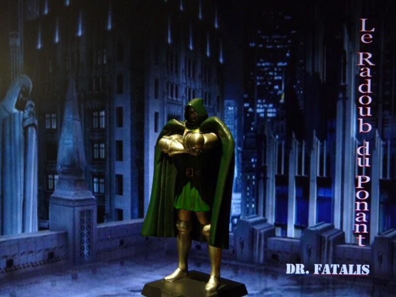 Dr Fatalis - Figurine en plomb. Mldrf210