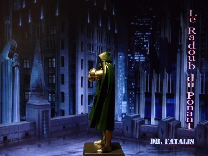 Dr Fatalis - Figurine en plomb. Mldrf310