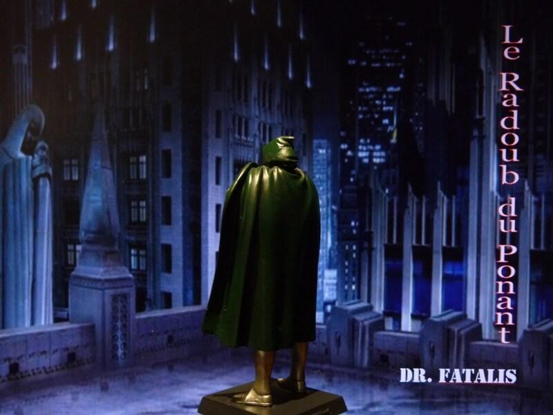 Dr Fatalis - Figurine en plomb. Mldrf410