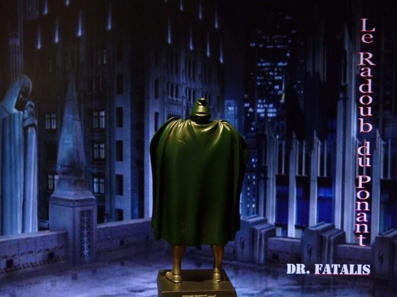 Dr Fatalis - Figurine en plomb. Mldrf510