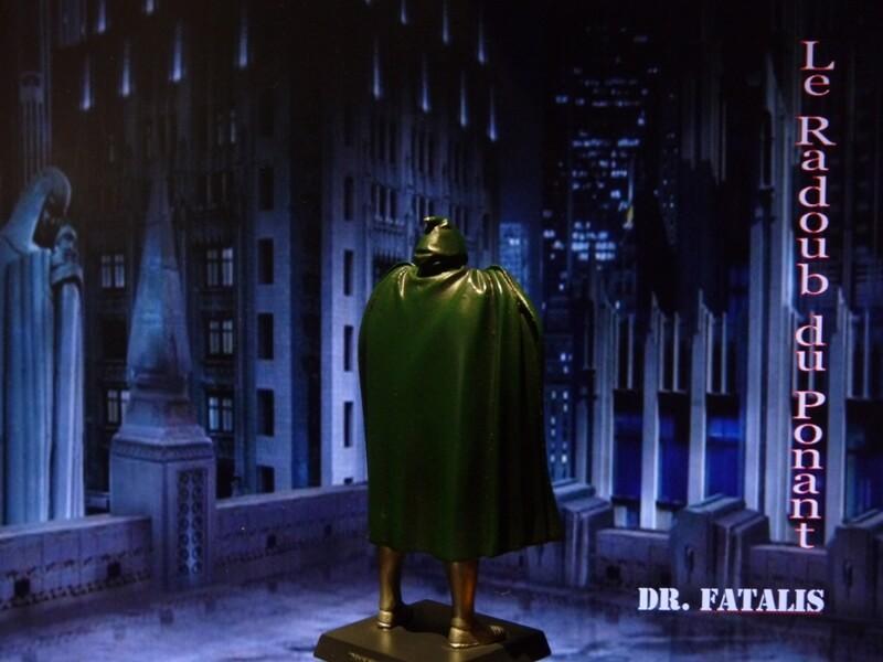 Dr Fatalis - Figurine en plomb. Mldrf610