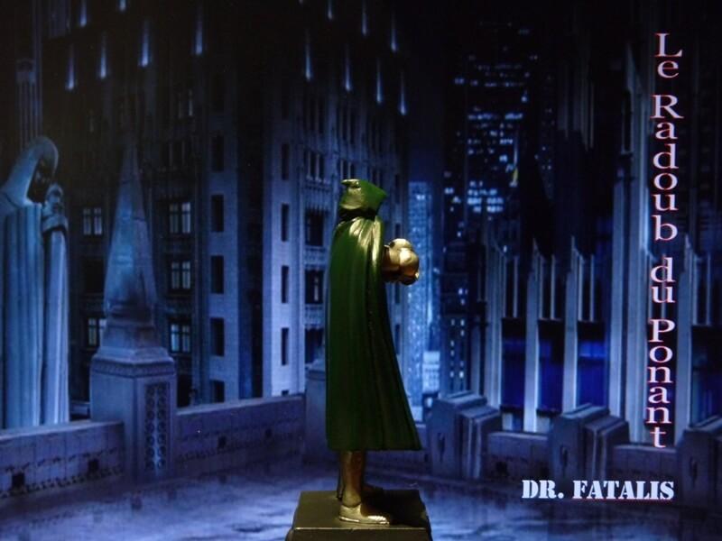 Dr Fatalis - Figurine en plomb. Mldrf710
