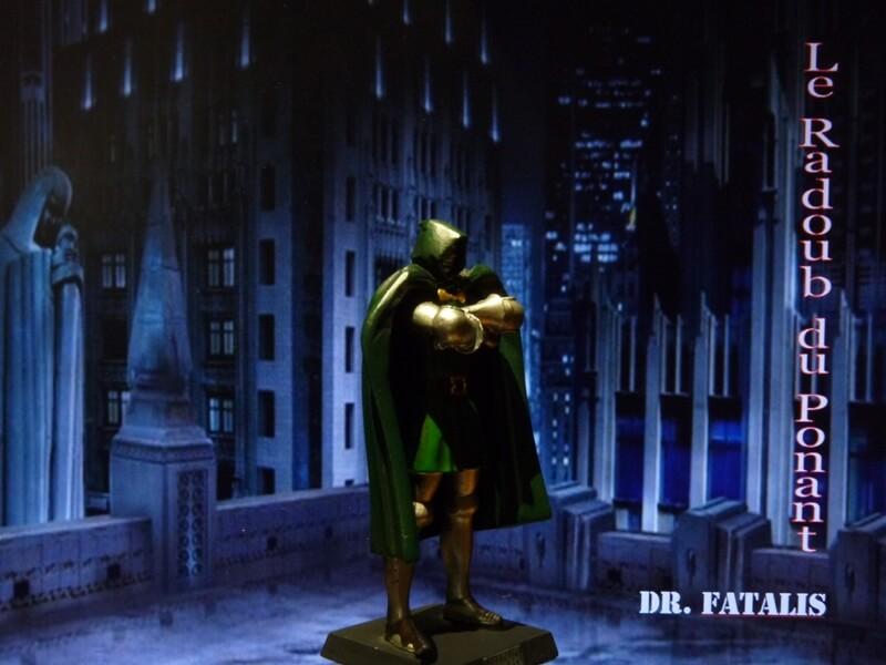 Dr Fatalis - Figurine en plomb. Mldrf810