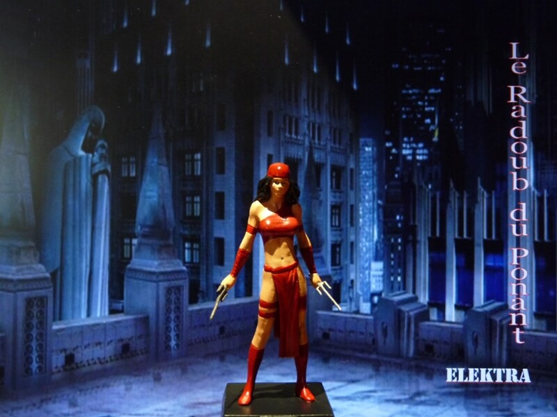 Elektra - Figurine en plomb Mleka110