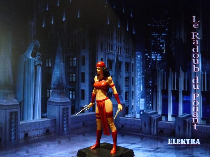 Elektra - Figurine en plomb Mleka210