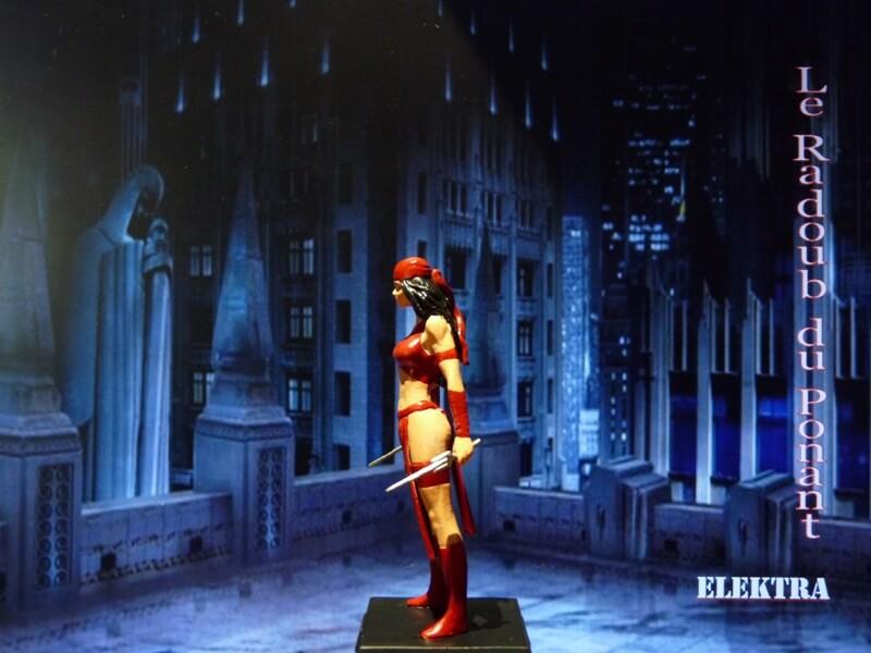 Elektra - Figurine en plomb Mleka310