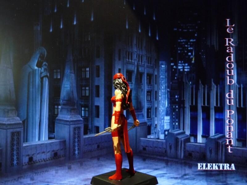 Elektra - Figurine en plomb Mleka410