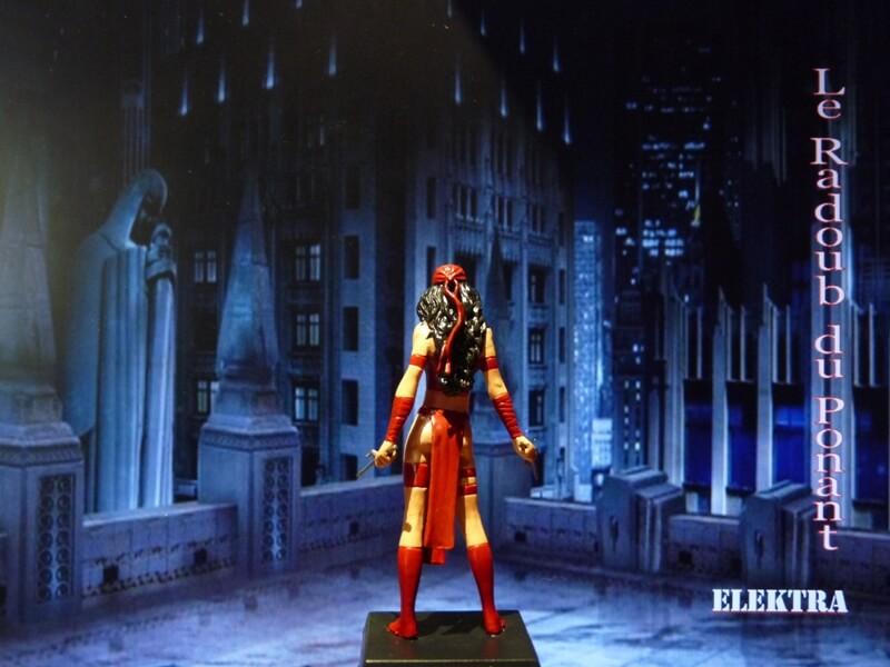 Elektra - Figurine en plomb Mleka510