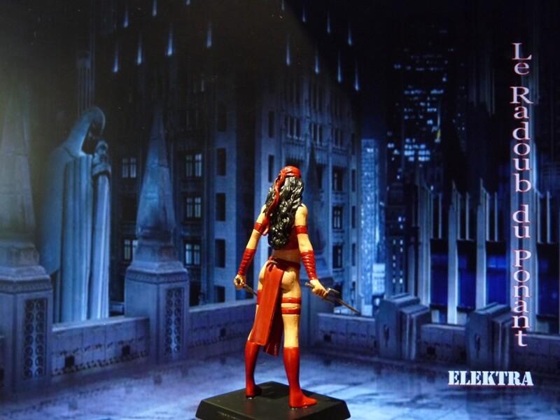 Elektra - Figurine en plomb Mleka610