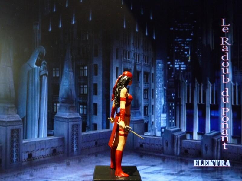 Elektra - Figurine en plomb Mleka710