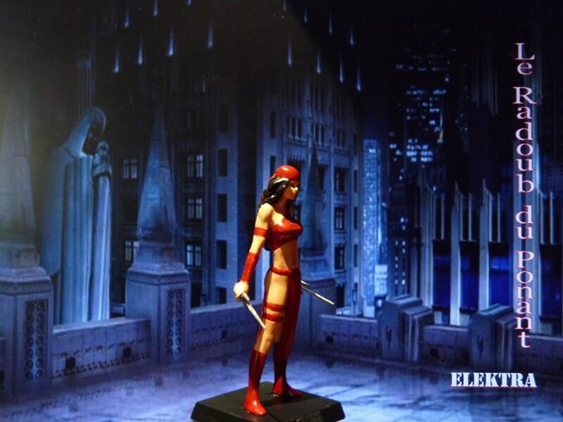 Elektra - Figurine en plomb Mleka810
