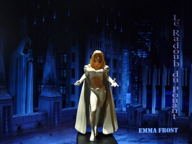 Emma Frost - Figurine en plomb Mlemft11