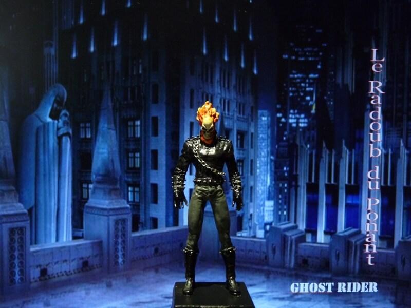 Ghost Rider - Figurine en plomb Mlghr110
