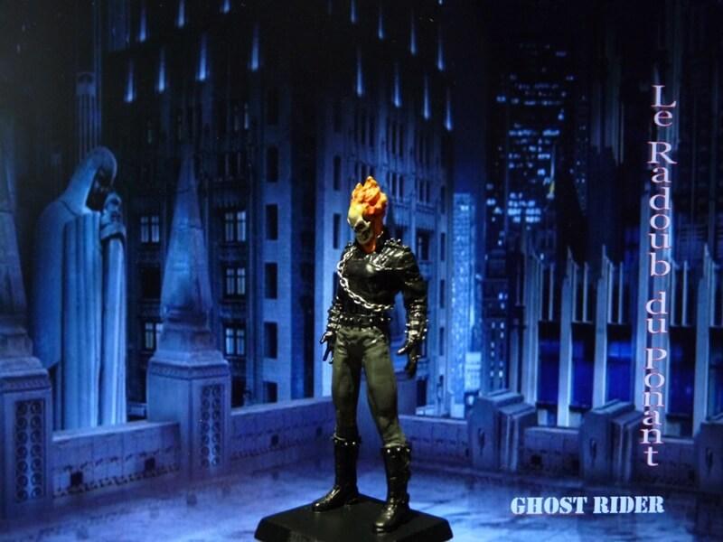 Ghost Rider - Figurine en plomb Mlghr210