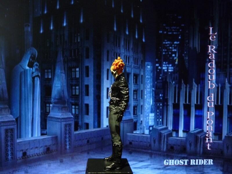 Ghost Rider - Figurine en plomb Mlghr310