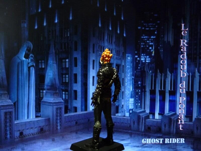 Ghost Rider - Figurine en plomb Mlghr410