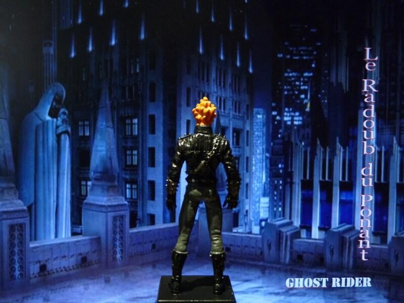 Ghost Rider - Figurine en plomb Mlghr510