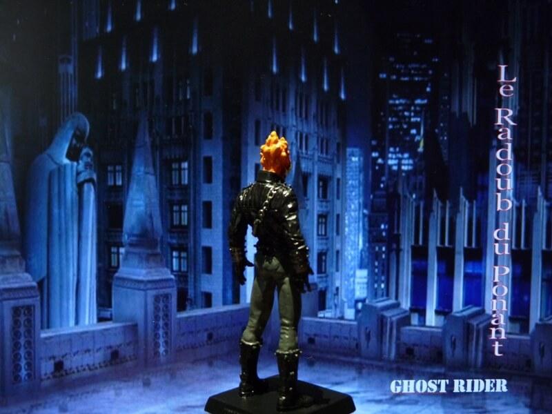 Ghost Rider - Figurine en plomb Mlghr610