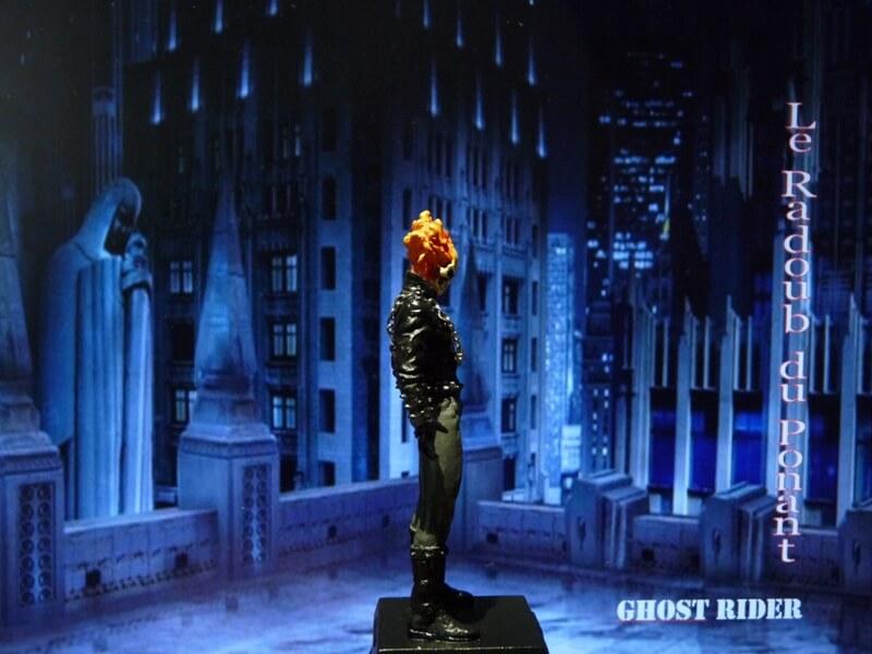 Ghost Rider - Figurine en plomb Mlghr710