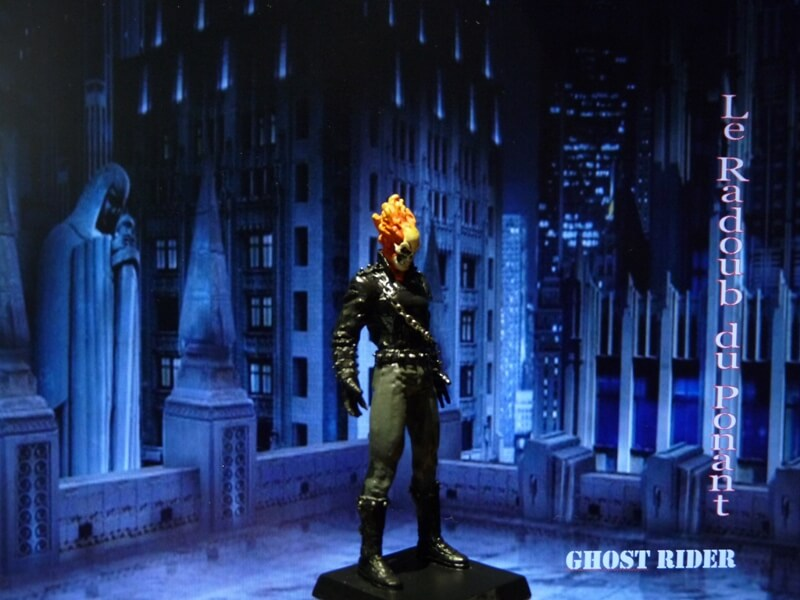 Ghost Rider - Figurine en plomb Mlghr810