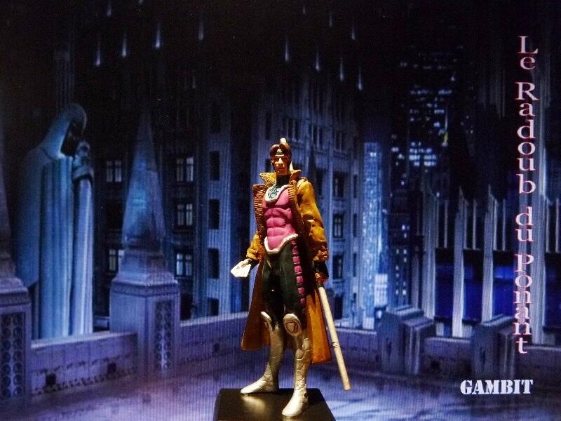Gambit - Figurine en plomb Mlgmt110
