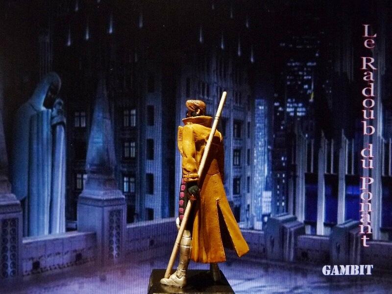 Gambit - Figurine en plomb Mlgmt310