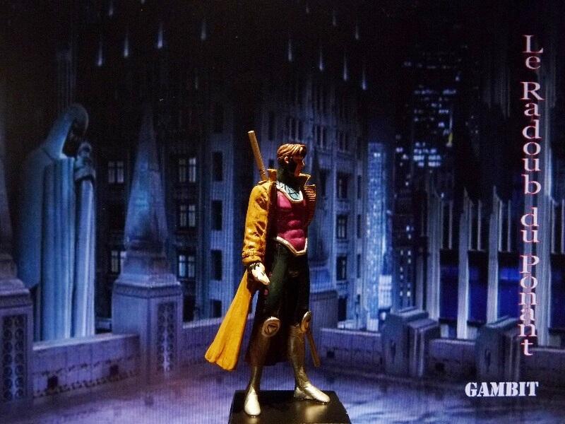 Gambit - Figurine en plomb Mlgmt710