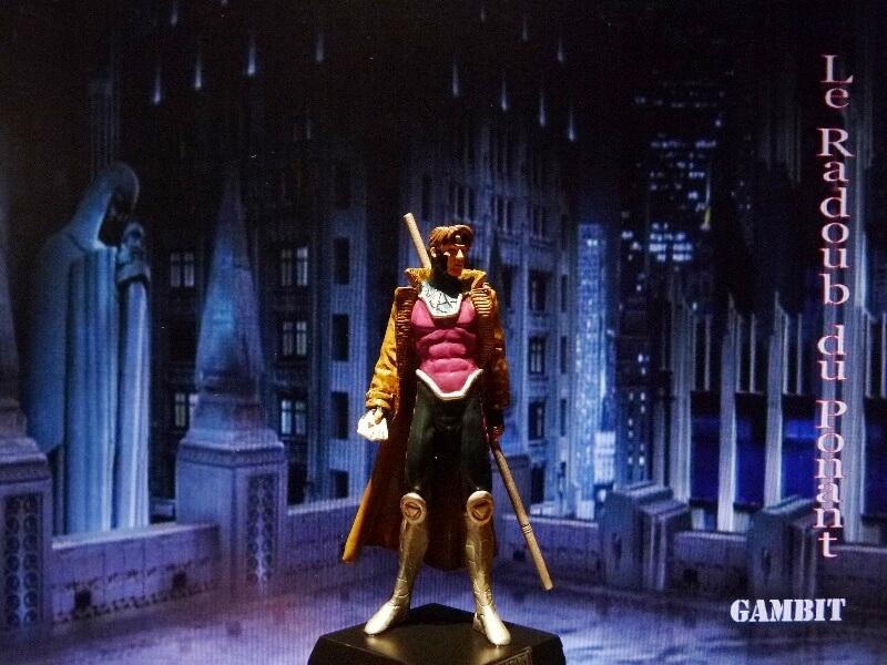 Gambit - Figurine en plomb Mlgmt810