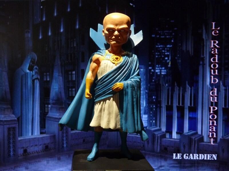 Le Gardien - Figurine en plomb Mlgn110