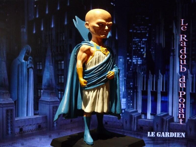 Le Gardien - Figurine en plomb Mlgn210