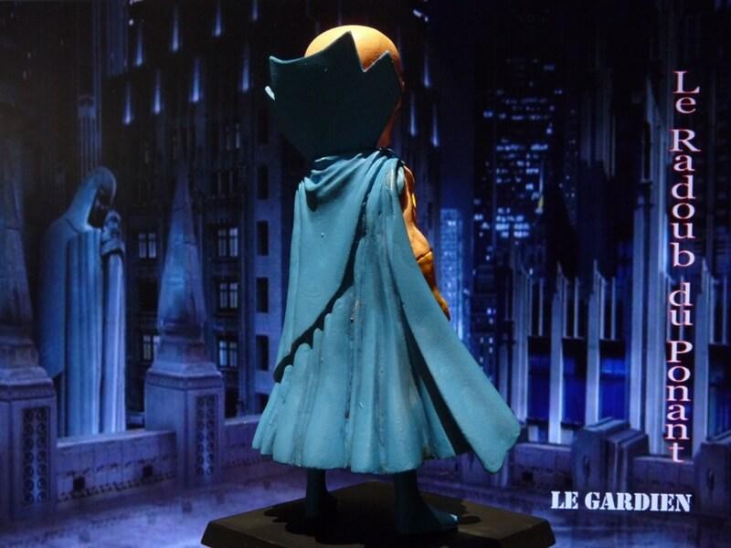 Le Gardien - Figurine en plomb Mlgn410
