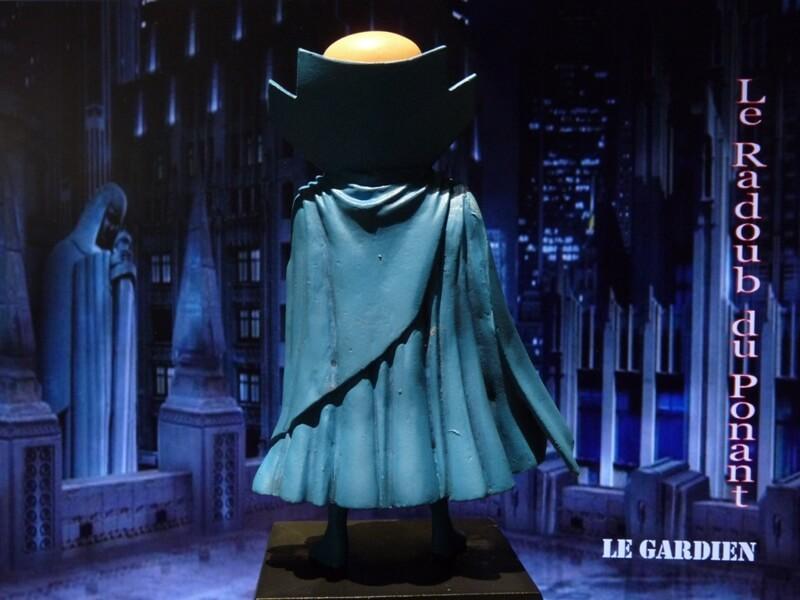 Le Gardien - Figurine en plomb Mlgn510