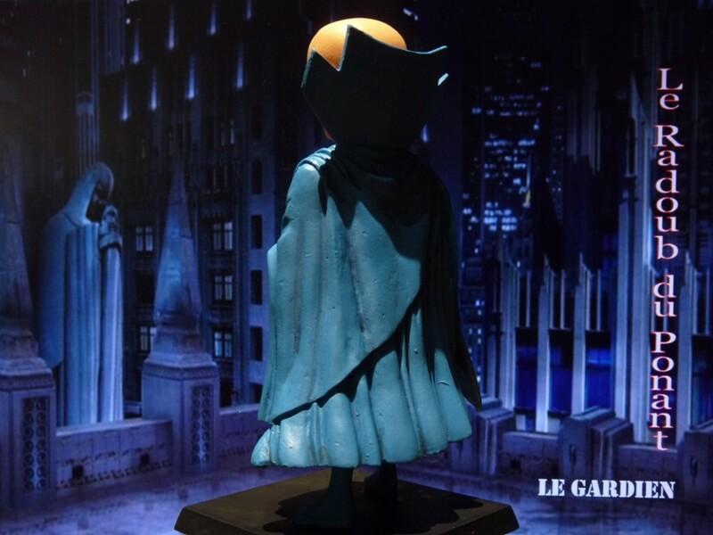 Le Gardien - Figurine en plomb Mlgn610