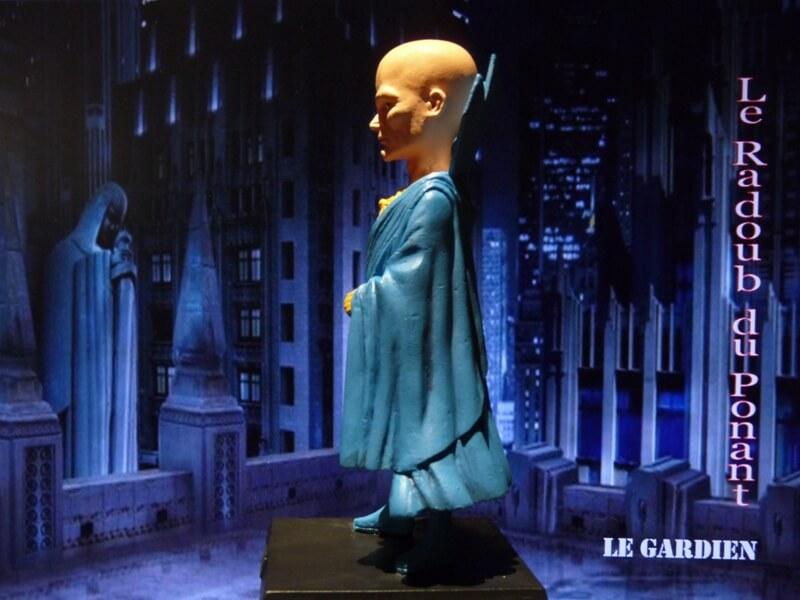 Le Gardien - Figurine en plomb Mlgn710