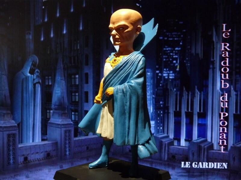 Le Gardien - Figurine en plomb Mlgn810