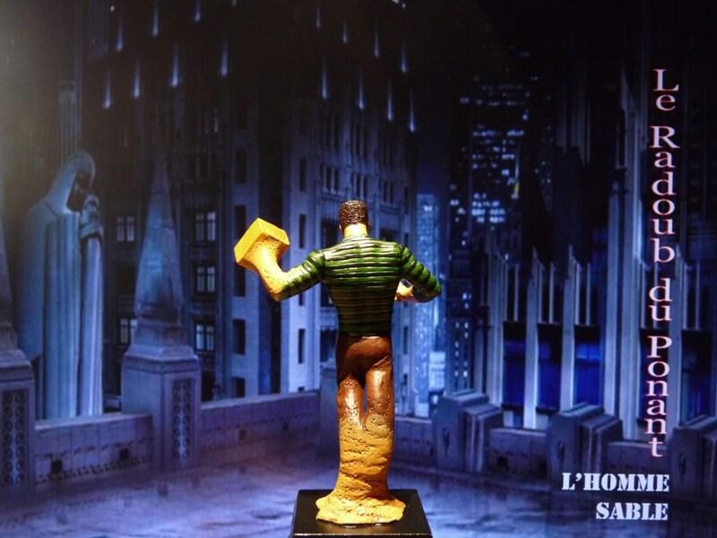 L'Homme Sable - Figurine en plomb Mlhsbl11