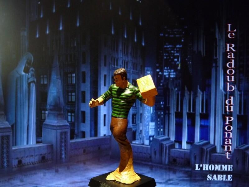 L'Homme Sable - Figurine en plomb Mlhsbl12