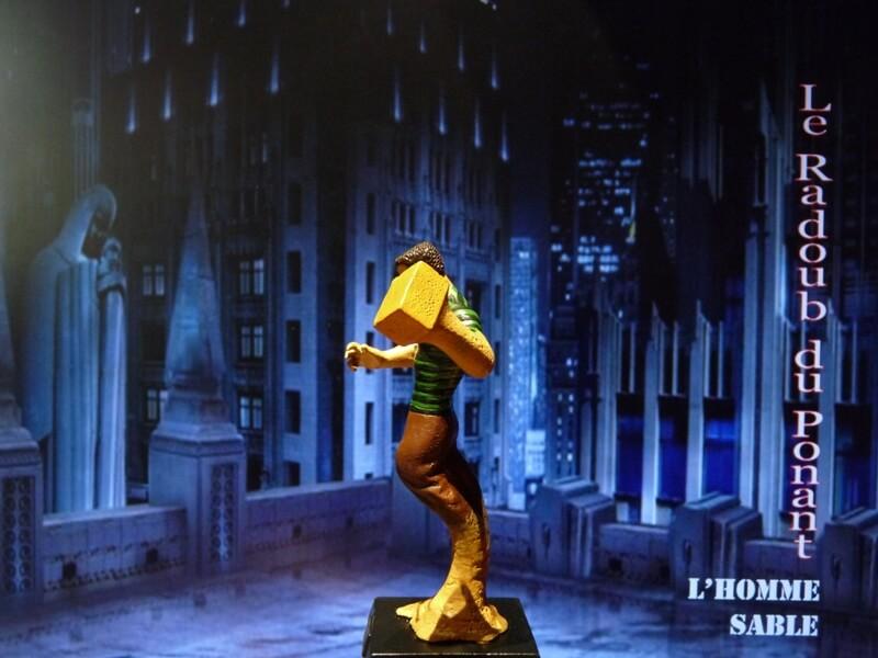 L'Homme Sable - Figurine en plomb Mlhsbl13