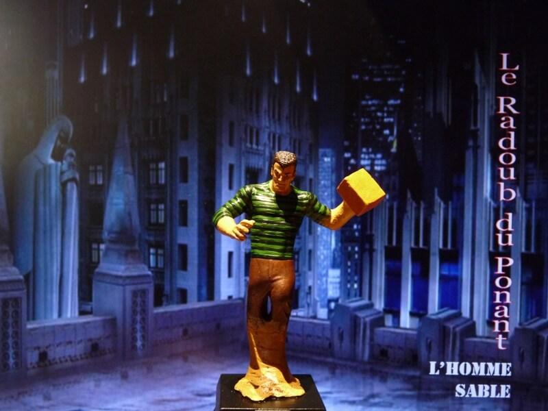 L'Homme Sable - Figurine en plomb Mlhsbl14
