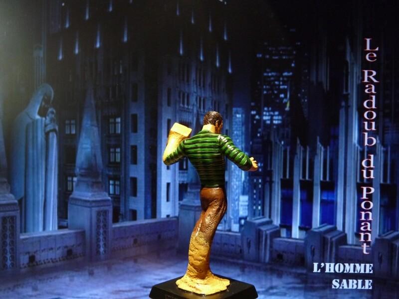 L'Homme Sable - Figurine en plomb Mlhsbl15
