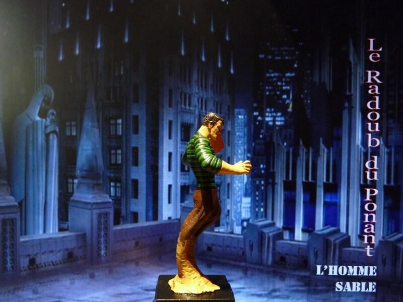 L'Homme Sable - Figurine en plomb Mlhsbl16