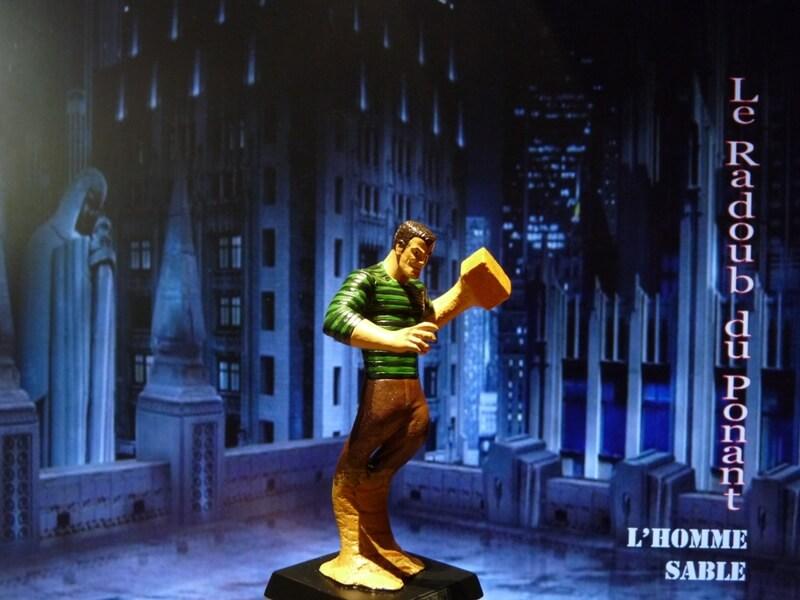 L'Homme Sable - Figurine en plomb Mlhsbl17