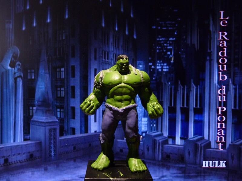 Hulk - Figurine en plomb Mlhul110