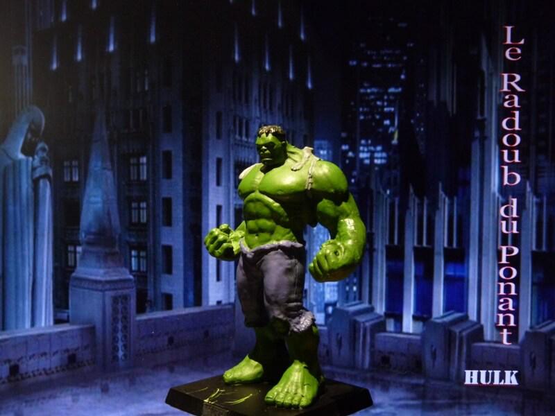 Hulk - Figurine en plomb Mlhul210
