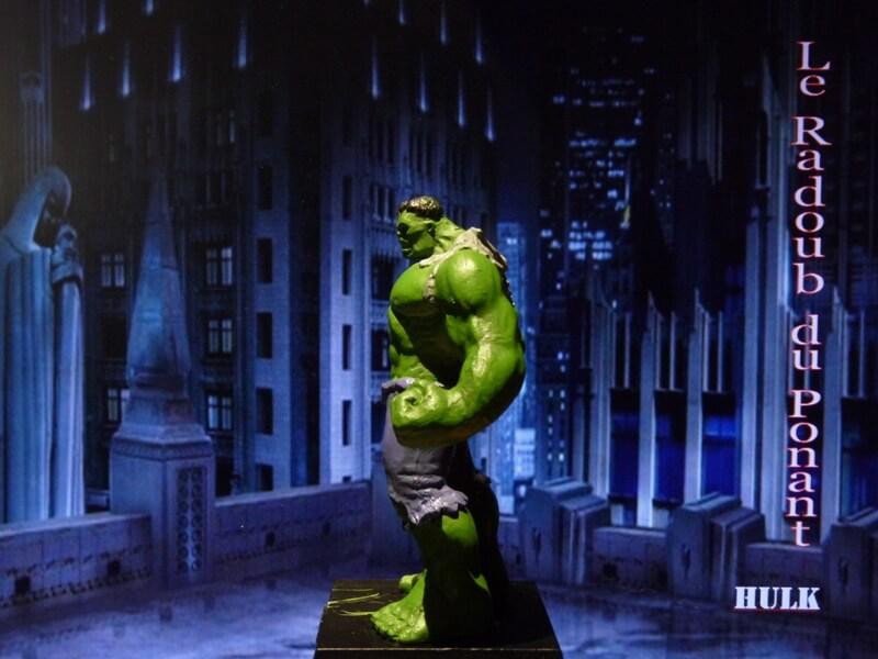 Hulk - Figurine en plomb Mlhul310
