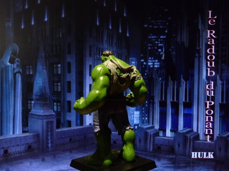 Hulk - Figurine en plomb Mlhul410