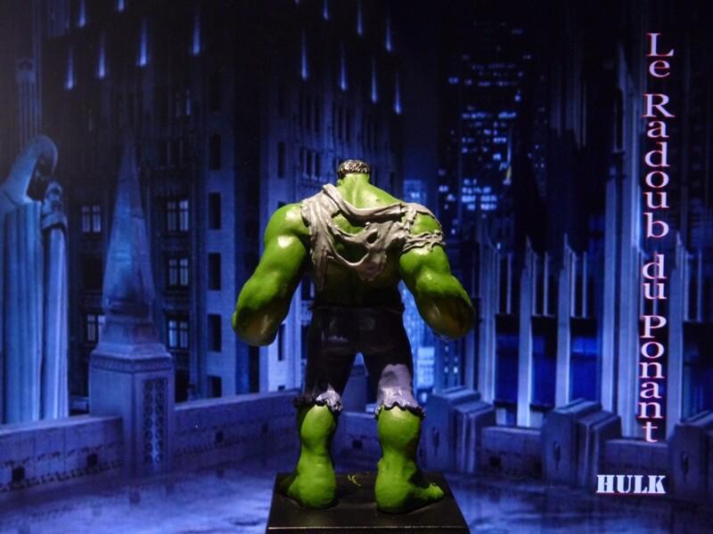 Hulk - Figurine en plomb Mlhul510