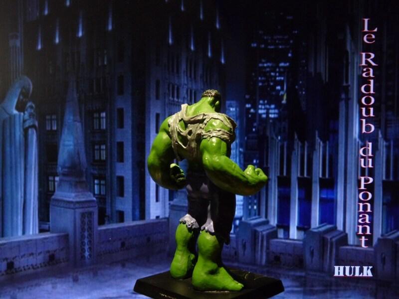 Hulk - Figurine en plomb Mlhul610