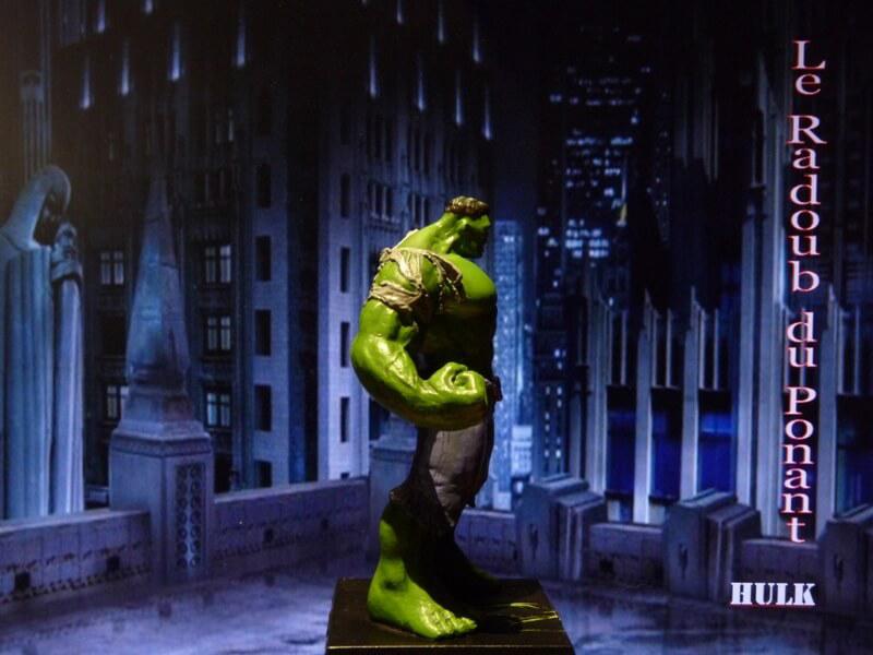 Hulk - Figurine en plomb Mlhul710
